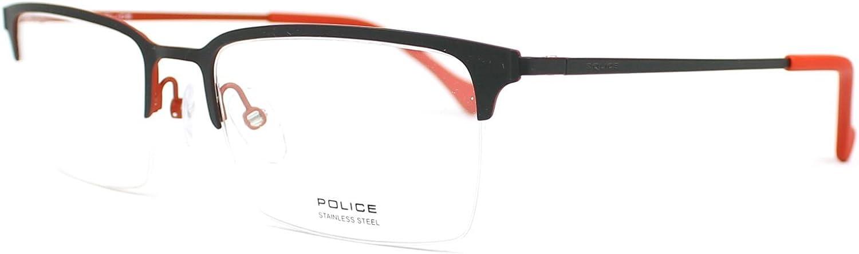 Police Police VPL290 Optical 55-19 140 GreyRuby01Hg