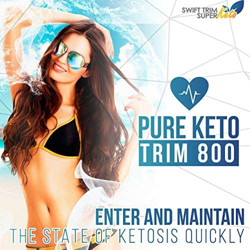 Pure Keto Trim 800 Pill - Keto Trim Diet - Burn More Fat & Lose More Weight WIth Accelerated Ketosis - Best Concetration 800 Mg Ketogenic Blend - Best Weight Loss - Best Keto Diet Pills 7