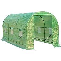 HOMCOM - Invernadero caseta 450 x 200 x