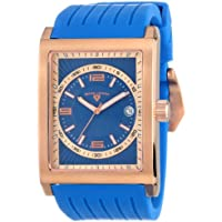 Swiss Legend Men's 40012-RG-03 Limousine Analog Display Swiss Quartz Blue Watch