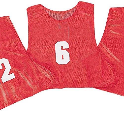 Champion Sports Adult Numbered Practice Vest, ( 1 dozen)