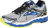 Brooks Men's Adrenaline GTS 15 White/Olympic/Lime Punch Sneaker 12 B - Narrow
