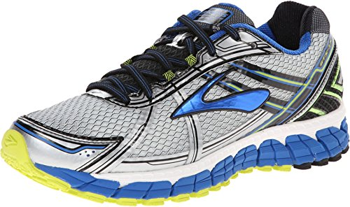 Brooks Men's Adrenaline GTS 15 White/Olympic/Lime Punch Sneaker