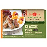 Applegate Naturals Classic Pork Breakfast Sausage, 7 Ounce (Pack of 12)