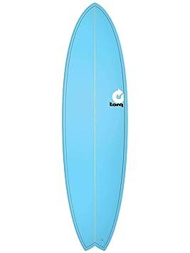 Tabla de surf Torq epoxy 6.10 Fish - Blue