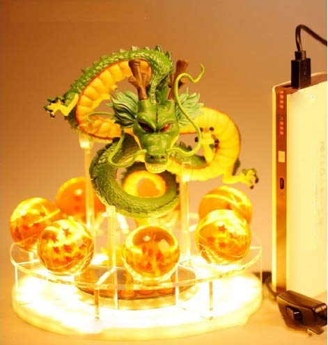 XTOY Dragon Ball Z Son Goku LED Table Lamp Spirit Bomb Night Light Luminaria Room Decorative Lighting 3 Choice Lights (3)