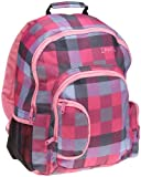 Levi's  Big Girls'  Checkmate Backpack,Black Check,One Size