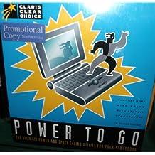 Power to Go - Power and Space Saving Utility for Macintosh Powerbook