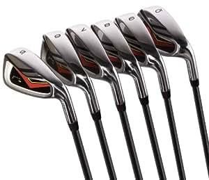 Pinemeadow Golf Pre Irons, Set of 6 (5-PW, RH, Steel, Regular)