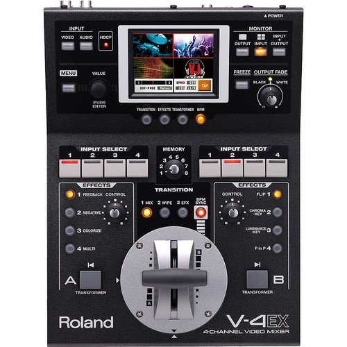 roland video mixer - 7
