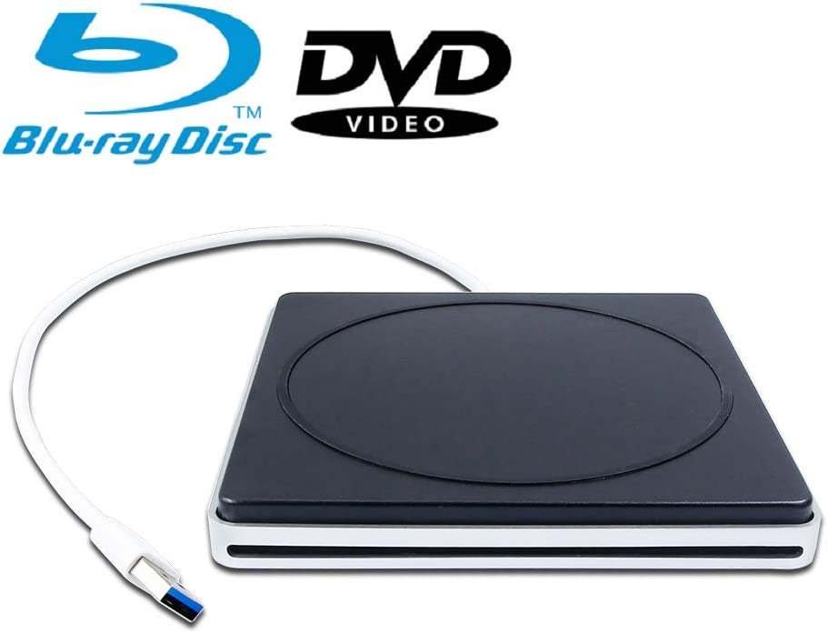BD-ROM Combo Reader 8X DVD+-R//RW DL 24X CD-R Burner New Portable External Blu-ray DVD//CD Players USB 3.0 SuperDrive Optical Drive for Apple MacBook Pro Retina Mid-2013 A1502 A1398 13 15 Inch Laptop