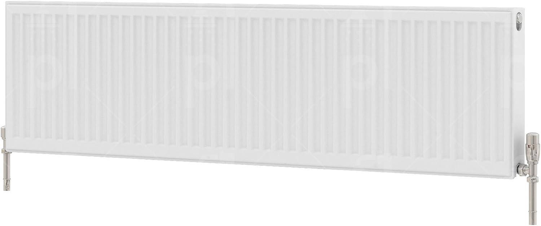 K-Rad Kompact Type 11 Single Panel Single Convector Radiator 300mm x 1600mm White