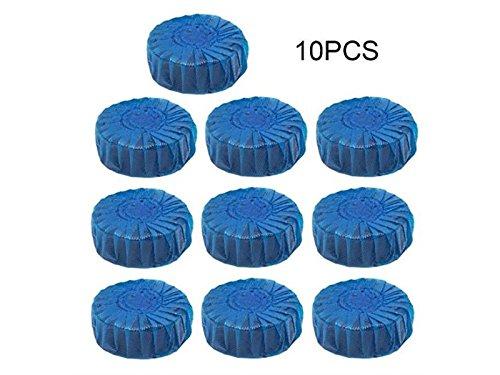 Hezon 10PCS Blue bubble toilet Bao Ling toilet decontamination EASY TO USE by Hezon