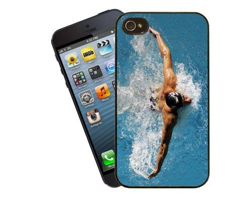 Schwimmen Schwimmer Telefon Case für iPhone 5 / 5 s - Cover von Eclipse-Geschenkideen