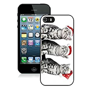 diy phone caseDiy Design Iphone 5S Protective Cover Case Christmas Cat iPhone 5 5S TPU Case 30 Blackdiy phone case