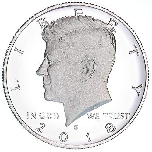 2018 S Kennedy Half Dollar CN Clad Gem Deep Cameo Proof (Proof Half Dollar Kennedy)