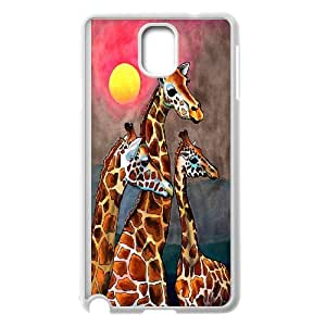 High Quality Phone Back Case Pattern Design 19Giraffe Animal- For Samsung Galaxy NOTE4 Case Cover