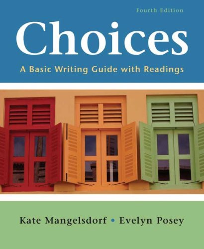 Choices: A Basic Writing Guide with - In Stores Co Pueblo