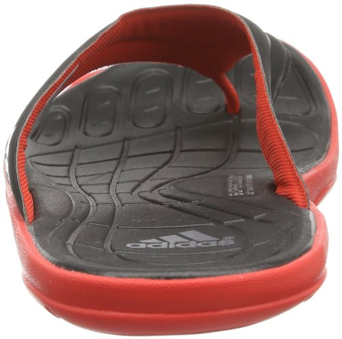adidas Performance Adipure Thong Supercloud F32911 Herren Dusch- & Badeschuhe Schwarz (Hi-Res Red F13/Black 1/Tech Grey Met. S14)