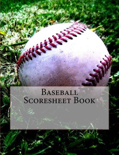 Baseball Scoresheet Book: 200 Pages (100 sheets)