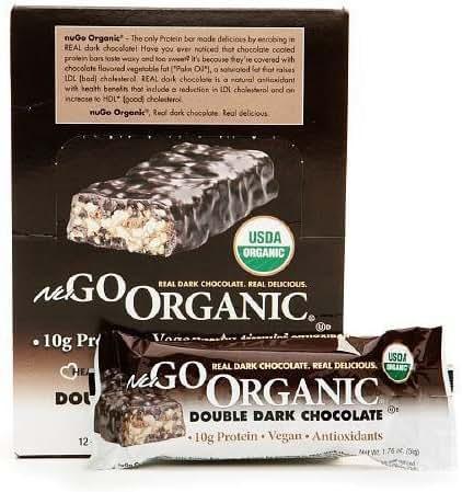 Granola & Protein Bars: NuGo Organic
