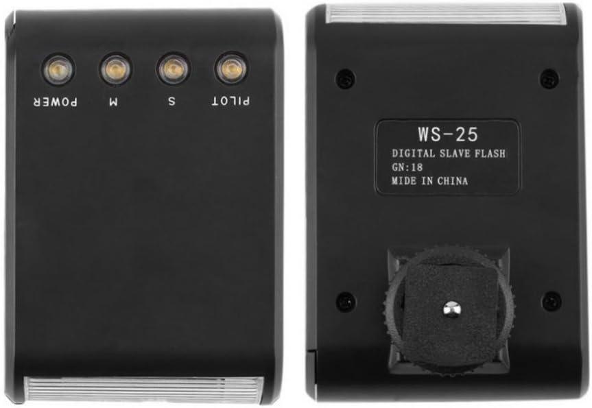 Camera Slave Flash for Canon 5D 6D 7D 70D 60D 50DT3I T2IDSLR Cameras