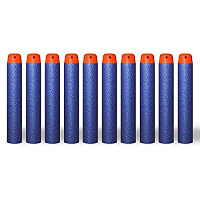 AMOSTING Refill Darts 500PCS Bullet for Nerf N-Strike Elite Zombie Strike Rebelle - Blue: Toys & Games