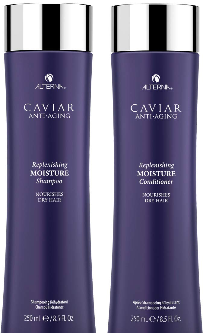 Alterna Caviar Replenishing Moisture Shampoo & Conditioner Duo (8.5 oz each) by Alterna [Beauty] by Alterna: Amazon.es: Belleza