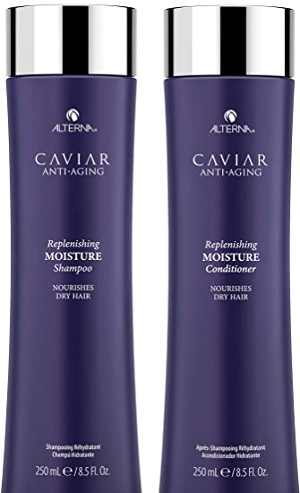 61e311d6d34 Image Unavailable. Image not available for. Color: CAVIAR Anti-Aging Replenishing  Moisture Shampoo ...