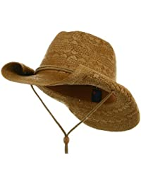 Ladies Toyo Straw Cowboy Hat