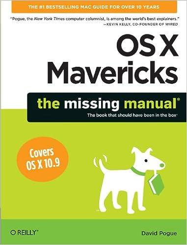 manual mac os x mavericks