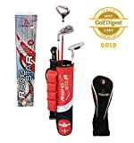 Paragon Rising Star Kids/Toddler Golf Clubs Set Ages 3-5 Red