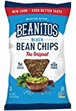 Beanitos Chips, Black Bean with Sea Salt, 6 Ounce (Pack of 6)