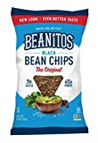 Beanitos Black Bean Chips with Sea Salt, The Healthy, High Protein, Gluten free, and Low Carb Vegan Tortilla Chip Snack, 6 Ounce (Pack of 6)