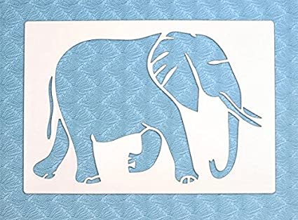 The Bodhi Tribe Elephant Yoga Stencil symbolizing strength and power, the elephant is an animal that reminds you to stand strong in your convictions. ...