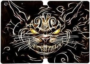 PU Leather Flip Case Cover for ipad mini 2 mini 3 Mini 1st Generation case The Cheshire cat at Alice In Wonderland MIN3738485