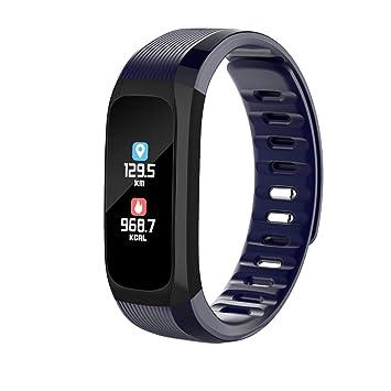 perg Transferencia Smart Pulsera Agua Densidad Tensiómetro Pulsómetro Fitness Tracking Pulsera: Amazon.es: Hogar