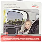 Britax 2 Pack EZ-Cling Sun Shades, Black from Britax
