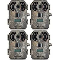 (4) Stealth Cam G42NG No Glo Digital Trail Game Camera 10MP