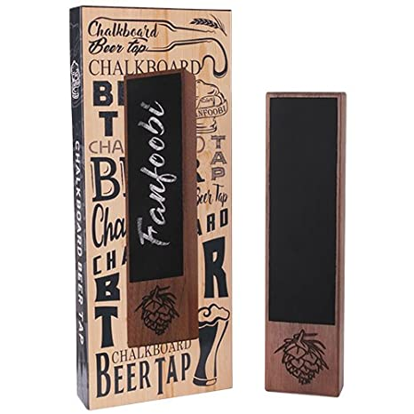 Amazon Com Fanfoobi Chalkboard Beer Tap Handle Display Made Of
