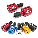 GT-Speed Red''GSXR'' Bar Ends for Suzuki GSXR 600 750 1000 1100 TL1000 SV650 SV1000S Hayabusa Katana 600 750 Bandit 1200 (READ Product description for Model & Year spcification)