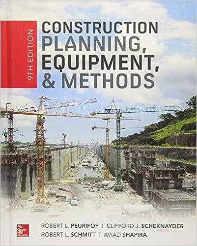 Construction Planning, Equipment, and Methods, Ninth Edition - Original PDF