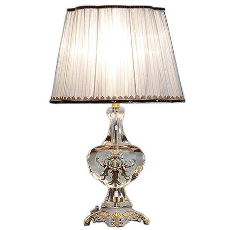 Moolo Lámpara de Mesa, lámpara de Cristal LED Cálida ...