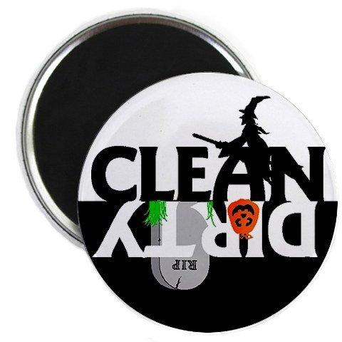 Halloween Clean Dirty Dishwasher