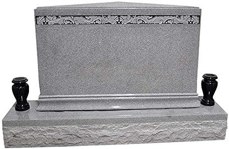 Amazon Com Double Marker Headstone Gravestone Monument