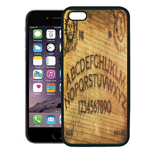 Semtomn Phone Case for iPhone 8 Plus case,Seance Ouija Board Talking Spirit Ghost Old Contact Dead Death iPhone 7 Plus case Cover,Black]()