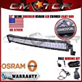 OSRAM 32Inch 300W Curved LED Work Light Bar FLOOD SPOT Combo OFFROAD UTE SUV EM   Add to watch list