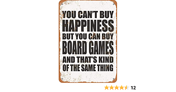 You Can/'t Buy Happiness But You Can Buy Metal Tin Sign