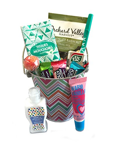 Thinking of You Gift Basket - Get Well Gift - Birthday Gift - Birthday Care Package - DESIGNED FOR HER - Lots of Selections (Chevron) (Birthday Gift Packages For Her)