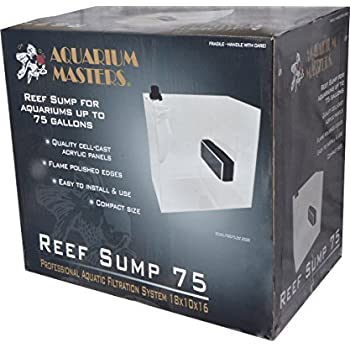 Amazon Com 75 Gallon Reef Sump Filtration System By
